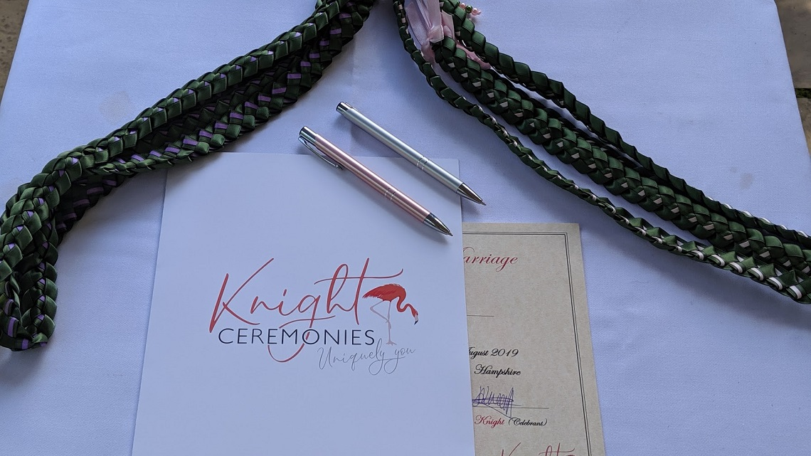 knight ceremonies handfasting