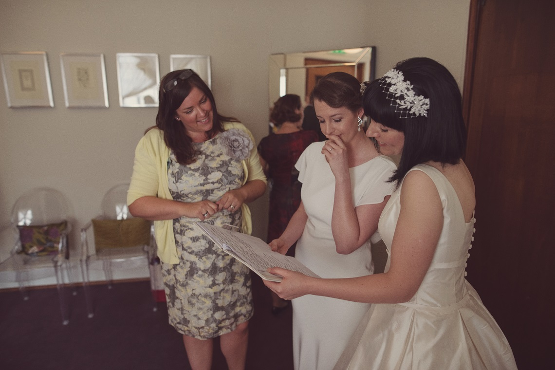 working with a celebrant