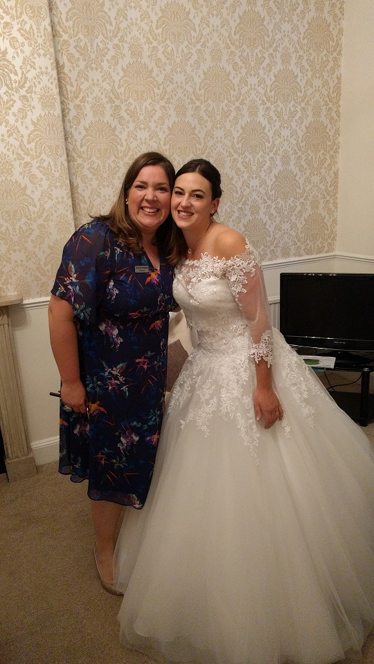 bride and Jenny