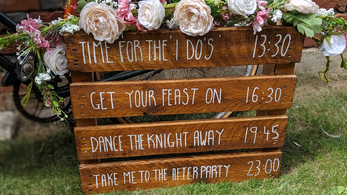 wedding timings